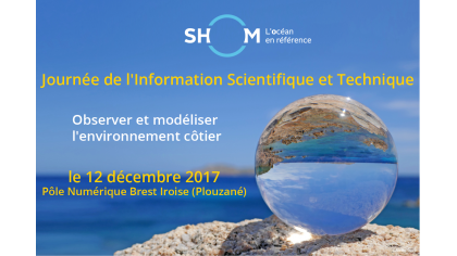 Journée d'information scientifique et technique du Shom // Save the date!