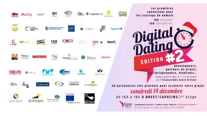 Le Digital Dating de la French Tech Brest +